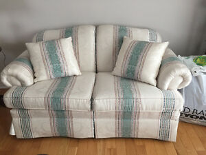 Decor rest Couch, love seat and chair