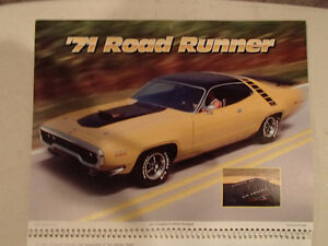New 2001 MEMORABLE MUSCLE CARS 12 Month CALENDAR. Issued by APC. Sarnia Sarnia Area image 8