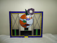 stain glass wall hangings