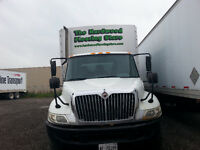 Straight Truck with Rolling Canopy with Tailgate for Sale