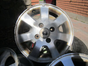 Honda accord 2003 mags / roues  15 inch/ 15 pouces