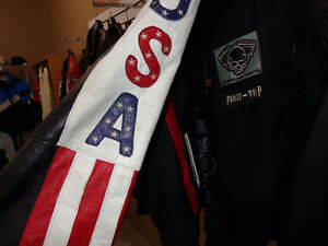 """""""Easy Rider"""" jacket in large -  recycledgear.ca Kawartha Lakes Peterborough Area image 10"""