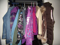 Girls jackets, fleece and winter coat