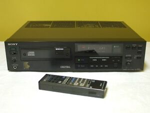 Sony CDP-501ES CD Player Audiophile Quality High End Series