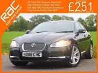 2008 Jaguar XF 2.7D V6 Turbo Diesel Premium Luxury 6 Speed Auto Sunroof Sat Nav
