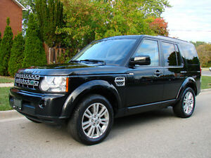 2011 Land Rover LR4, 4x4 Leather/3sunroof, NAV, Camera,7 seats!
