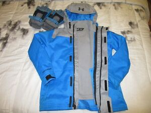 Under Armour Infrared 3-in-1 Boy's WINTER coat 7/8 and 2 gloves