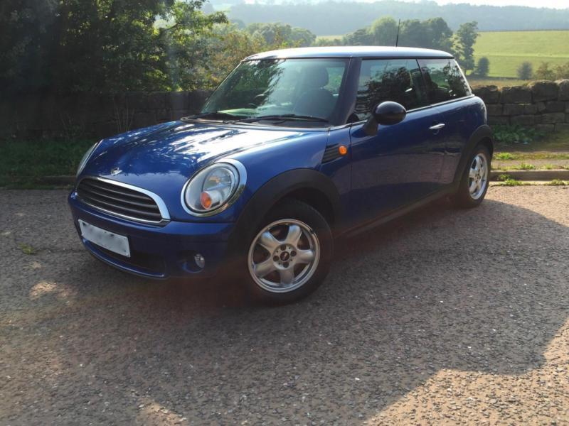 MINI 1.4 ONE BLUE FULL SERVIC HISTORY. 2 KEYS 2007