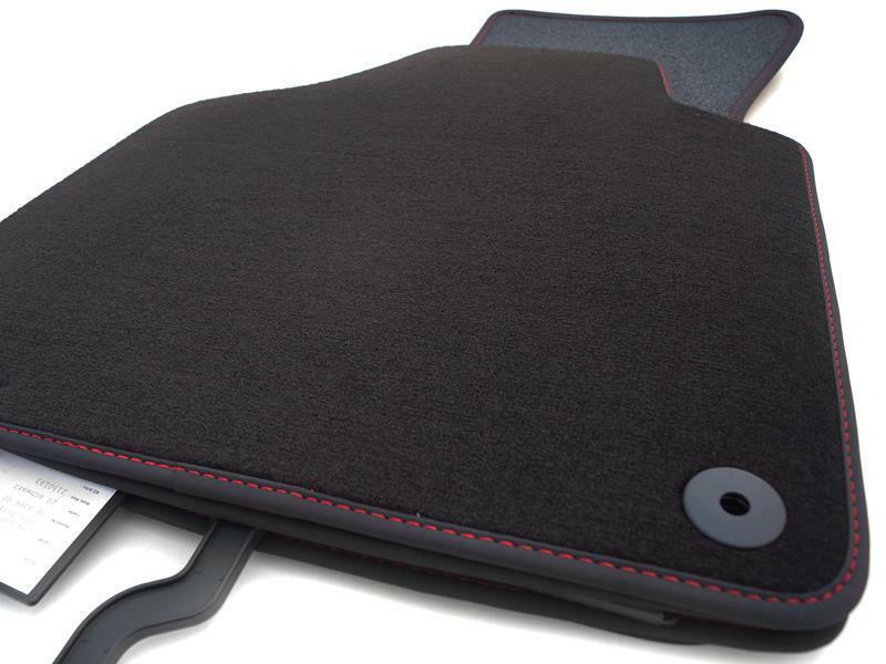 S-Line Fußmatten Audi A3 (8P) Original Qualität Velours Nubuk Leder Automatten