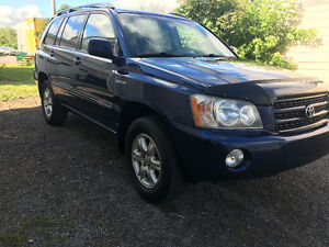 2002 Toyota Highlander Limited VUS