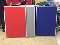 Office noticeboards 90cm x 60cm - 5 available