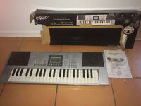 44-key Equip electronic keyboard with box & manual