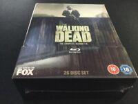 The Walking Dead Seasons 1-6