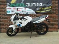 Lexmoto XTRS 125cc Sports Tourer White LEARNER MOTORBIKE MOTORCYCLE UK DEALER
