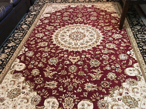 "8""/12"" rug for sale just few months old , thick decorative rugs."