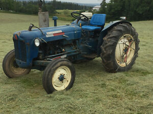 Fordson tractor, new motor