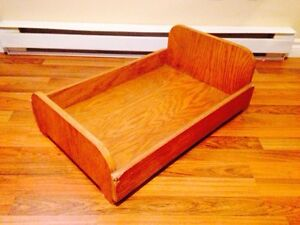 Hand Crafted Wooden Dog/Pets Bed