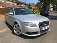 AUDI A4 TDI S LINE AVANT 2008 MANUAL FSH 1 OWNER FROM NEW