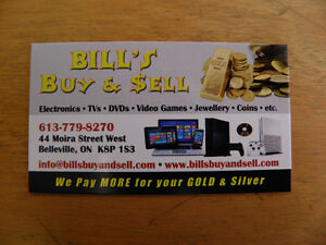 Buying DVDS , Blu rays discs and players and more!!! Belleville Belleville Area image 1