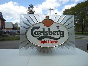 "CARLSBERG BAR LIGHT "" ANTIQUE"""