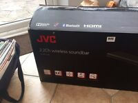 JVC Wireless Sound Bar