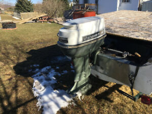 40 hp johnson outboard