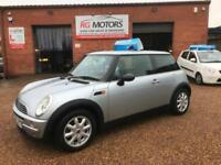 2002(52) Mini Mini 1.6 ( Salt ) One, Silver 3dr Hatch, **ANY PX WELCOME**