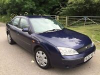 Ford mondeo automatic 5dr 1 year mot