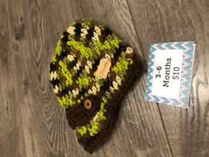 Infant and Toddler Crochet Hats
