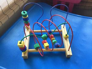 jouet de bois module