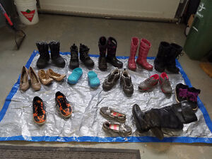 more 10 pairs of shoes.ALL 80 DOLLARS or 10 dollars each.