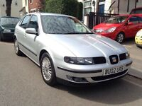 2002 SEAT LEON 20v TURBO CUPRA. CLEAN STANDARD CAR.