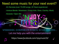 Highly Experienced and Dynamic Karaoke & DJ Services!!