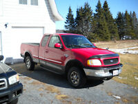 1998 Ford F-250 xlt Pickup Truck Extended cab 4x4