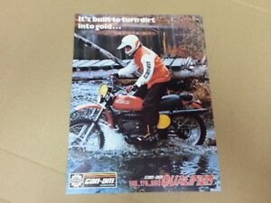 Can Am Qualifier 125 175 250 brochure mint