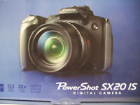 STOLEN  CAMERA CANON SX20IS