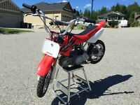 Honda CRF 50 with 117cc kits