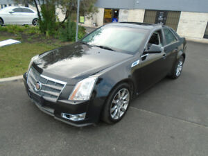 2008 Cadillac CTS Sedan - BLACK ON BLACK, ALLOYS, PANO ROOF