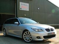 BMW 5 Series 3.0TD 525d M Sport Business Edition Touring Estate 5d 2993cc auto