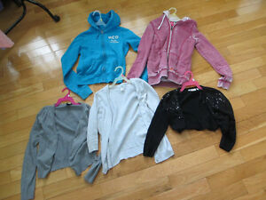 LOT DE VESTES POUR FILLETTE HOLLISTER VOLTIGE H&M