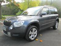 09/59 SKODA YETI 2.0 TDI SE 4X4 140BHP 5DR HATCH IN MET GREY
