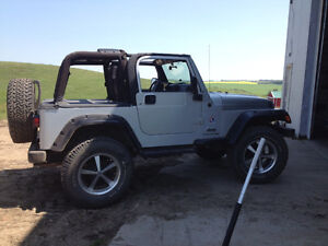 For sale 2003 Jeep Wrangler