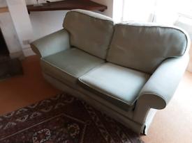Green velvet sofa bed