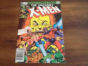 Uncanny X-men 161 & 163 comic booksWolverine Kitty Pryde Magneto