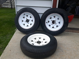 Trailer tires and rims 5.30-12