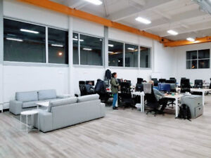 Sublet: Industrial Style Office Space in St Henri - 2750 sq. ft.