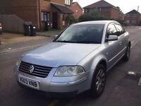 2003 VW VOLKSWAGEN PASSAT 2.0 SE, PETROL, MANUAL ***MOT TILL JULY 2017***DRIVES GREAT***GENUINE PX
