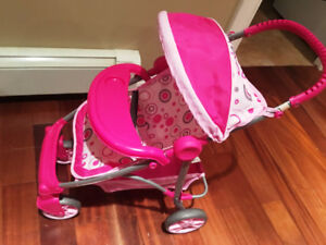 Toy Doll Graco Deluxe Mirage Stroller