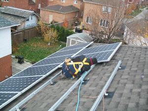 Net-Metering and/or battery back-up Solar PV system installation