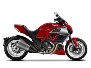 2013 Ducati Diavel, Red/White